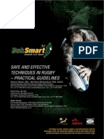 BokSmart - Safe Rugby Techniques Practical Guidelines