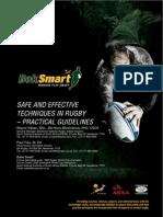BokSmart - Safe Rugby Techniques Practical Guidelines