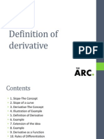 What Are Derivative