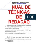 Manual - Tecnicas de Redacao - eBook