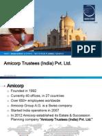 Amicorp Trustees Presentation 2013