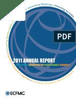 ECFMG 2011 Annual Report