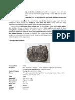 Mineral Siderite