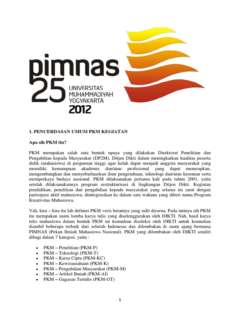 5a Kiat Menyusun Proposal Pkm Gt Ai 2013
