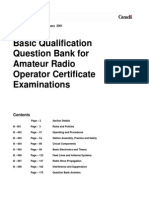 Basic Qualification Question Bank for Amateur Radio Operator RIC-7
