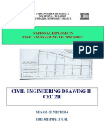 Cec 210-Civil Engineering Drawing II