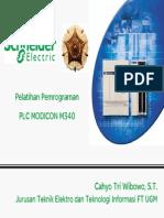 Pelatihan Pemrograman PLC Modicon M340