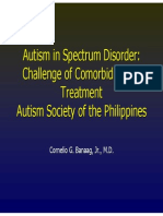 Challenge of Co Morbidity and Treatment in Autism 131027