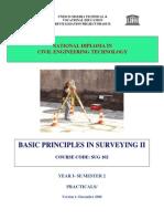 Sug 102 P- Basic Principles in Surveying II