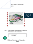 Memory Management English v1