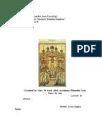 Crestinul in Viata de Toate Zilele în viziunea Sfantului Ioan Gura de Aur