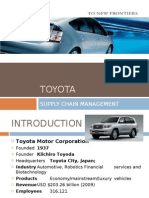 Toyota Supply Chain