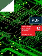 Vodafone M2M Global M2M Platform Brochure