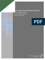 Pemrograman Berbasis Web Xampp