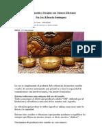 Armonización y Terapias con Cuencos Tibetanos