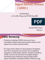 Gastro Esofageal Refluks Disease