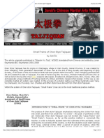 ChinaFromInside.com presents...  TAIJIQUAN - Small Frame of Chen Style Taijiquan
