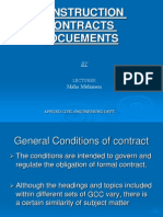 Contracts Docuements General Conditions 1.11