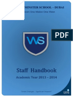 GEMS Teachers Handbook 2014