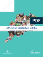 A Profile of Disability in Odisha Trends, Development and Dynamics