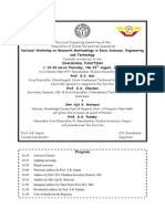 Invitation National Workshop 29 Aug 2013