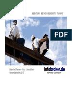 Bau & Immobilien BranchenThemen Gesamtübersicht 2013