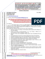 20140222-G. H. Schorel-Hlavka O.W.B. to HM Queen Elizabeth II -Various Issues