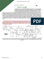 Estado sólido bobina de tesla SSTC IV