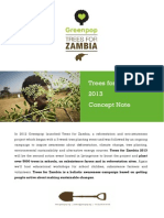 Trees for Zambia 2013 Concept Note