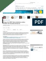 Grupo do MEC fará relatório sobre evasão em escolas técnicas - vida - educacao - Estadão