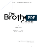 The Brother Code. Script Draft 2. FMP. 9.2.14