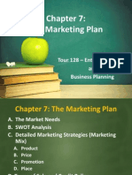 Chapter 7 - Marketing Plan