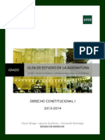 GUIA Extensa de UNED Derecho Constitucional I 2013/2014