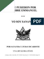 Bitacora Fenix No 2 - Yo soy Sananda