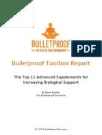 Bulletproof Top 11 Advanced Supplements