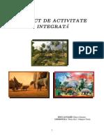 1 Proiect Lumea Dinozaurilor