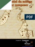 Koutso Alex - L'Essentiel du Solfège pour Composer
