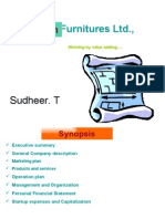 Hindustan Furnitures Ltd.,