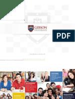 Gibson University - Academic Brochure