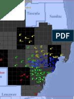2009 High School Districts Maps - Cq