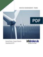 Energie & Rohstoffe BranchenThemen Gesamtübersicht 2013