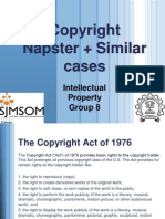Copyright Napster + Similar Cases
