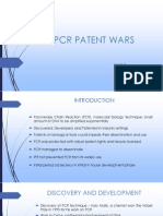Pcr Patent Wars
