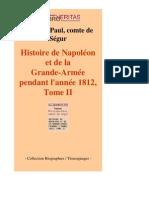 11192-PHILIPPE-PAUL COMTE de SEGUR-Histoire de Napoleon Et de La Grande-Armee Pendant Lannee 1812 Tome II-[InLibroVeritas.net]