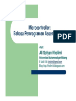 Microcontroller-Bab03-Bahasa Pemrograman Assembly 8051.pdf
