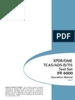 IFR 6000 Manual