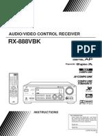Instruction Manual for JVC RX-884VBK