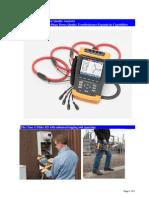 Fluke 435 Logging Power Quality Analyzer