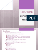 HRM-CHAPTER 8-Industrial Relation
