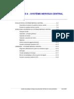 SYSTÈME NERVEUX CENTRAL  anatomie sémiologie pour infirmiers
